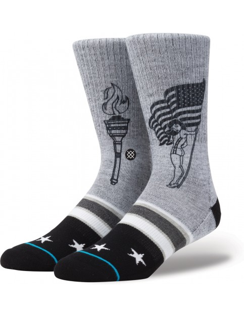 Stance Podium Socks in Grey