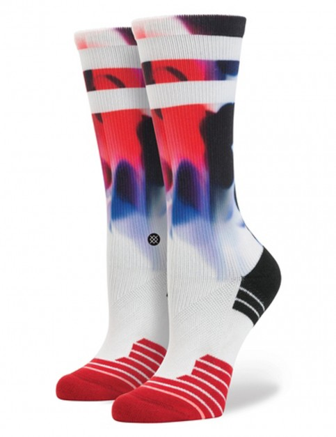 Stance Powerhouse Crew Socks in Red
