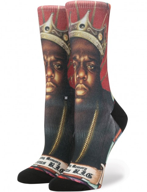 Stance Praise B.I.G. W Crew Socks in Red