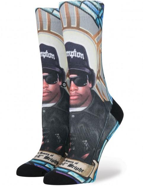 Stance Praise Eazy-E W Crew Socks in Blue