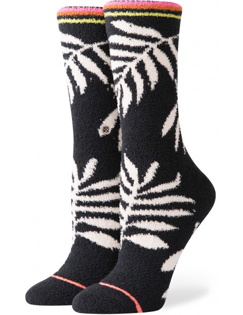 Stance Prehistoric Crew Socks in Black