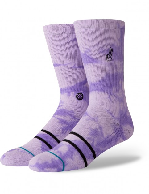 Stance Promises Crew Socks in Violet