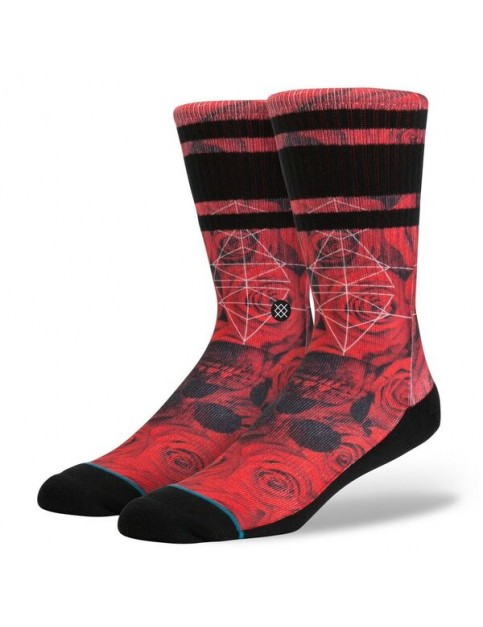Stance Prowler Socks in Red