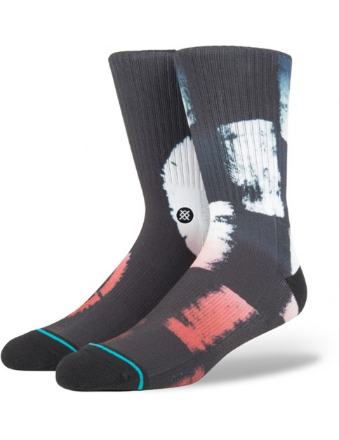 Stance Racetracks Crew Socks in Black