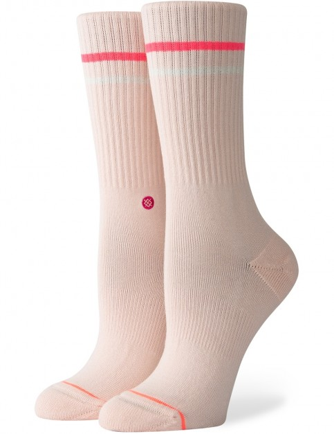 Stance Radiance Crew Socks in Pink