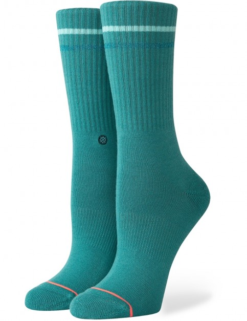 Stance Radiance Crew Socks in Teal