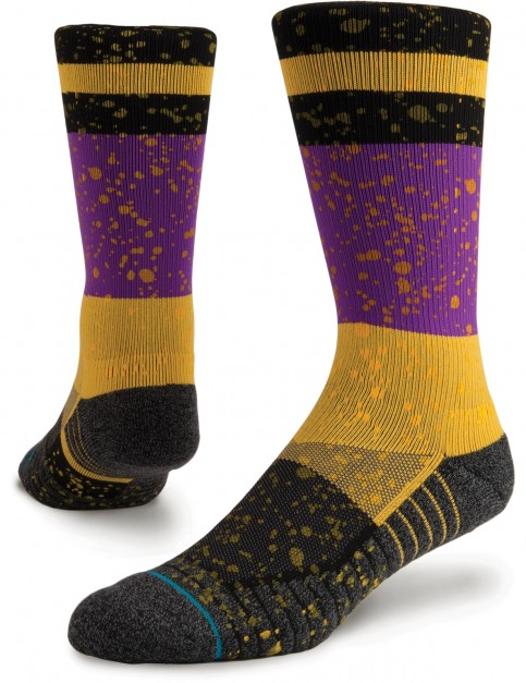 Stance Rain Crew Socks in Black