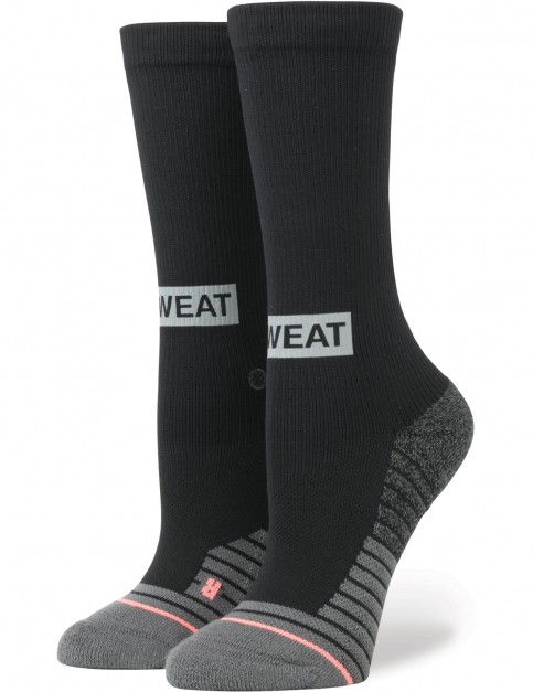 Stance Reflective Box Crew Socks in Black
