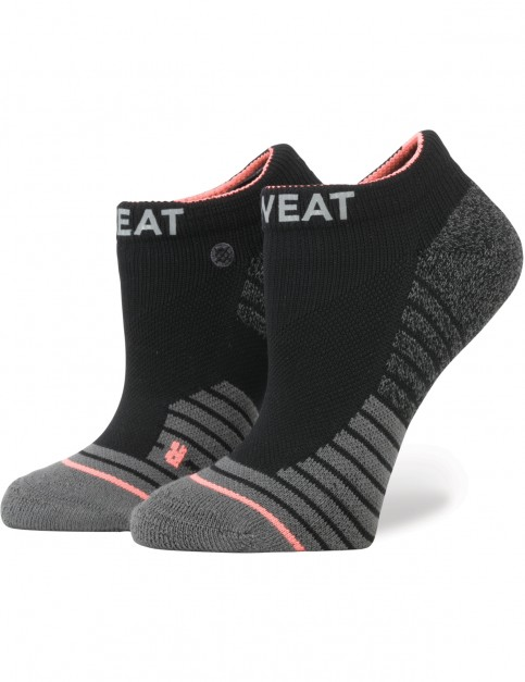 Stance Reflective Sweat Crew Socks in Black