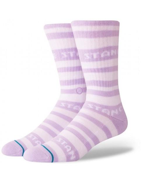 Stance Repp Crew Socks in Violet