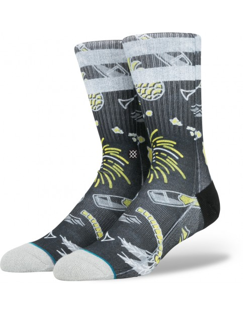 Stance Resolution Socks in Black