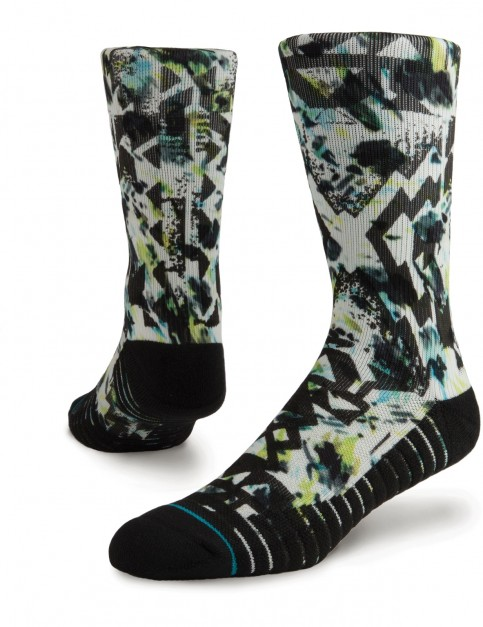 Stance Reverb Athletic Crew Socks in White