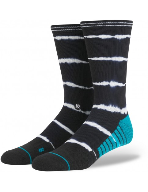 Stance Richter Crew Socks in Black