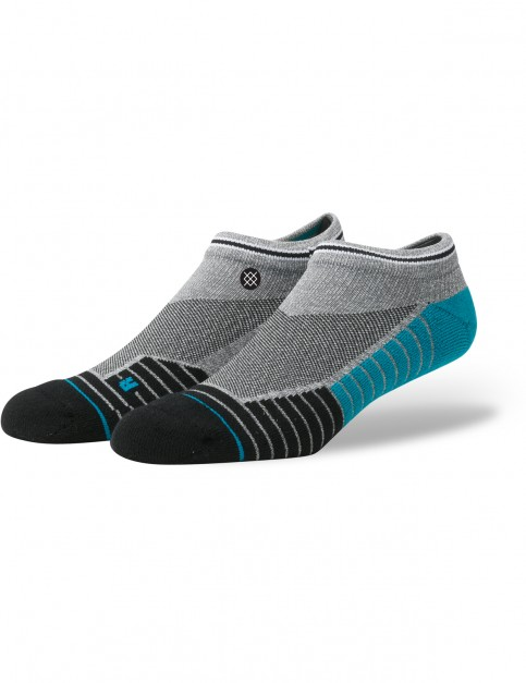Stance Richter Low No Show  Socks in Grey