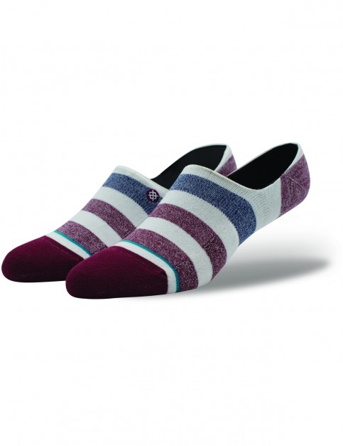 Stance Robinsen Low No Show Socks in Red