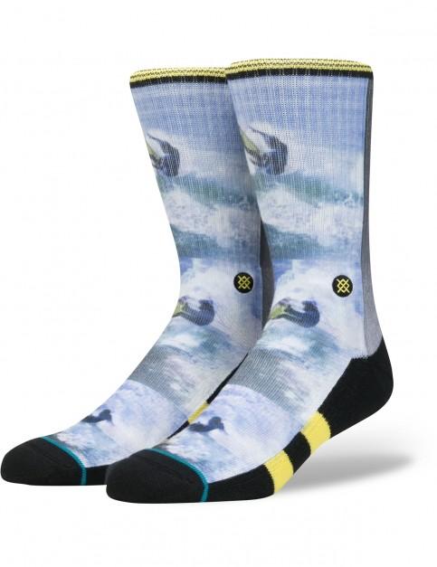 Stance Ross Crew Socks in Yellow