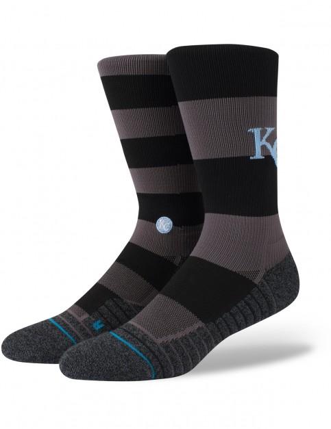 Stance Royals Nightshade Crew Socks in Black
