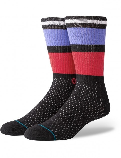 Stance Rucker Crew Socks in Black