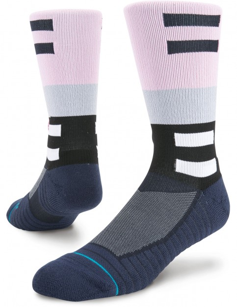 Stance Russs Crew Crew Socks in Navy