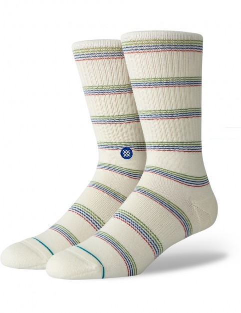 Stance Saguaro Crew Socks in Natural