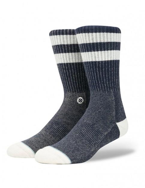 Stance Salty Crew Socks in Navy