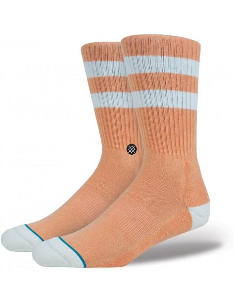 Stance Salty Crew Socks in Orange