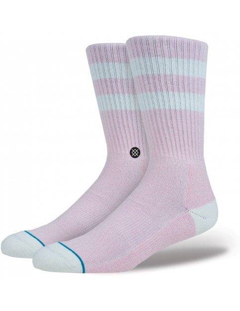 Stance Salty Crew Socks in Pink