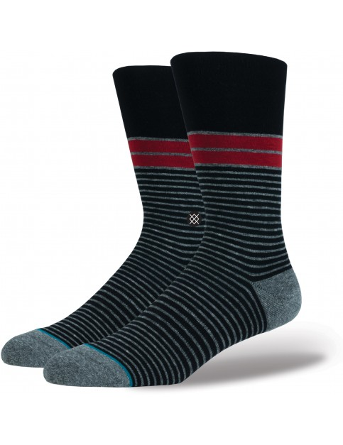 Stance San Lucan Crew Socks in Black