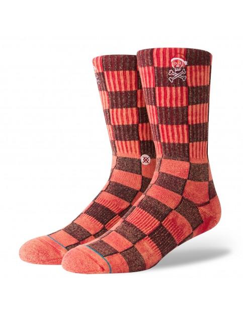 Stance Santarchy Crew Socks in Red