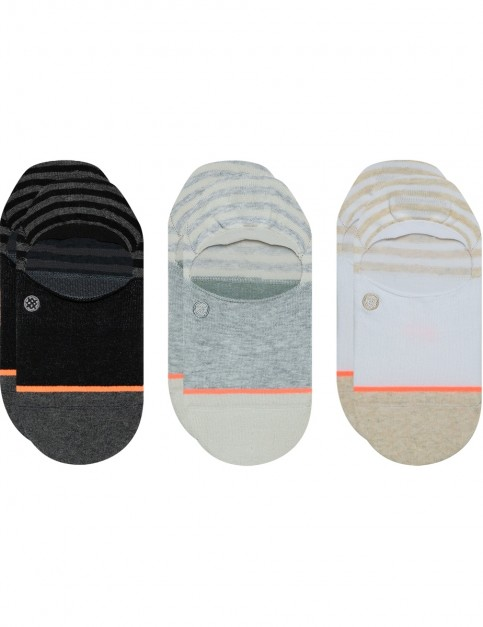 Stance Sensible 3 Pack No Show Socks in Multi