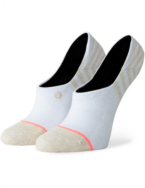 Stance Sensible 3 Pack No Show Socks in White