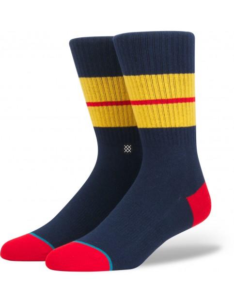 Stance Sequoia 2 Socks in Navy