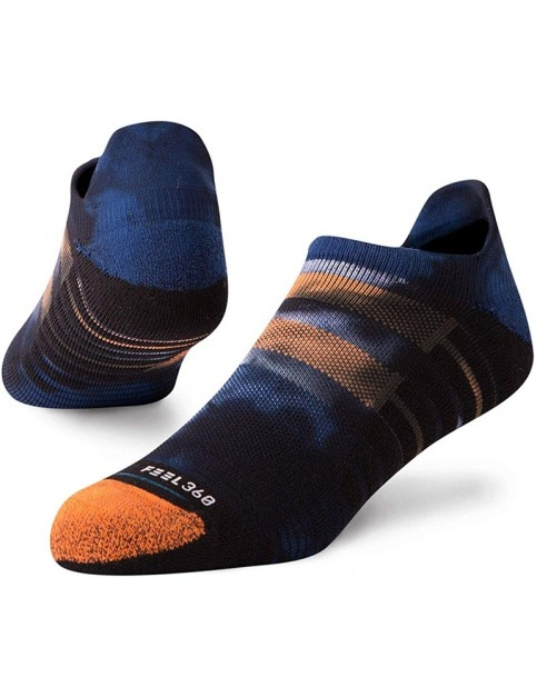 Stance Shape Up Tab No Show Socks in Navy