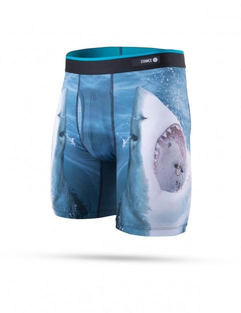Stance Shark Tooth Underwear in Navy