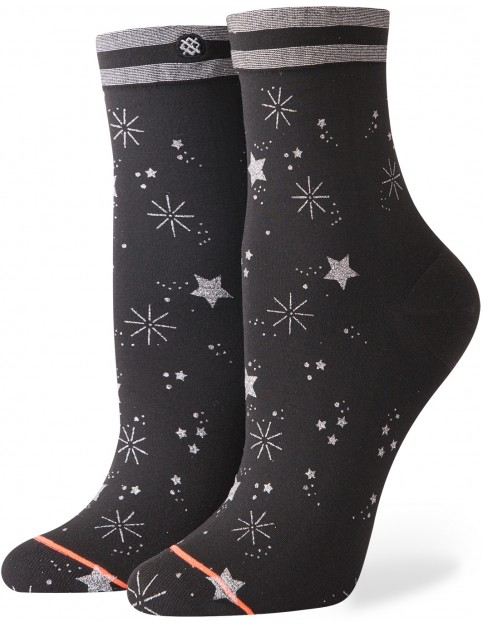 Stance Shine Time Crew Socks in Black