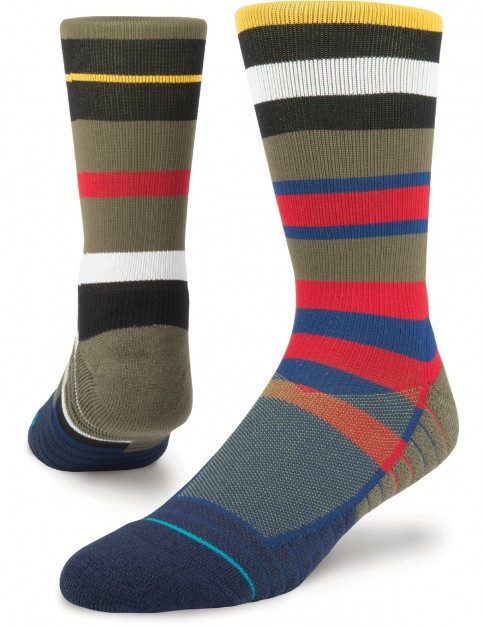Stance Sidelines Tab Crew Socks in Multi
