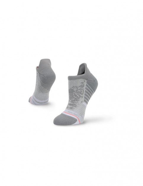 Stance Silver Tiger Tab No Show Socks in Grey