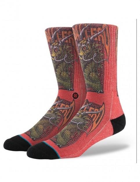 Stance Skate Legends Caballero 2 Socks in Red