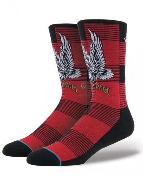 Stance Skate Legends Cardiel 2 Socks in Red