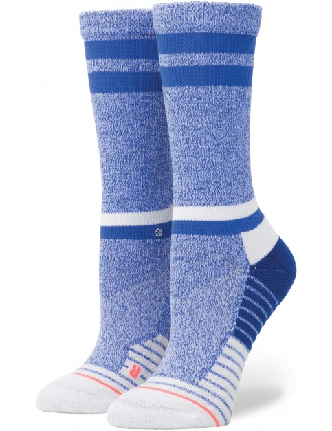 Stance Sky Static Crew Crew Socks in Blue