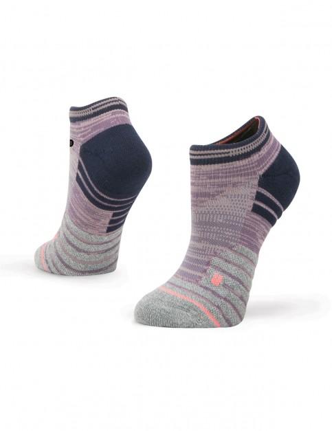 Stance Slay Girl Low Ankle Socks in Purple