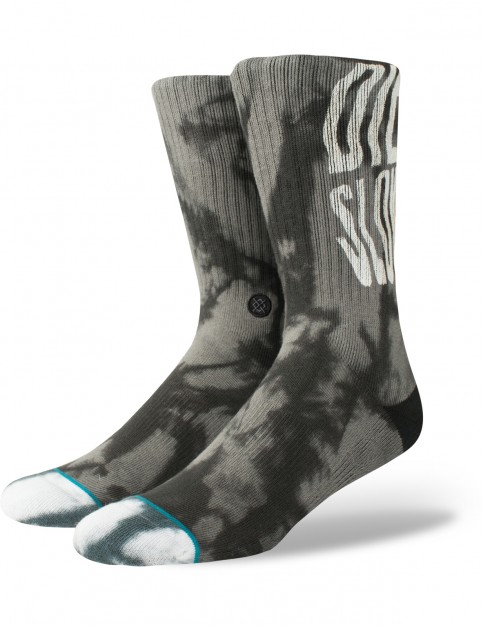 Stance Slow Crew Socks in Black