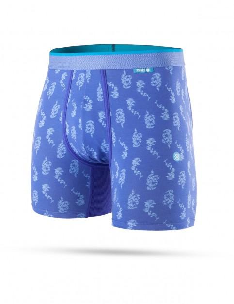 Stance Snake Stamp Underwear in Blue