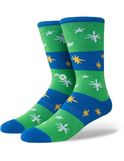 Stance Sparkle Crew Socks in Blue