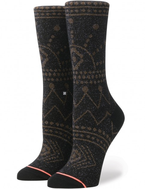Stance Sparks Everyday Crew Socks in Black