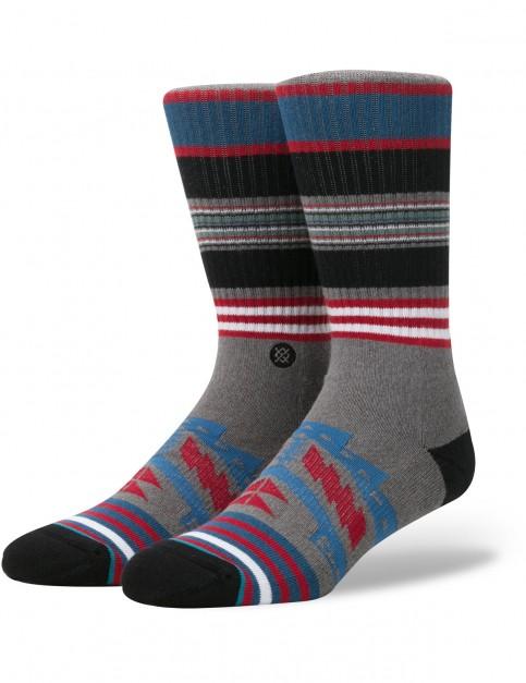 Stance Sparta Crew Socks in Grey