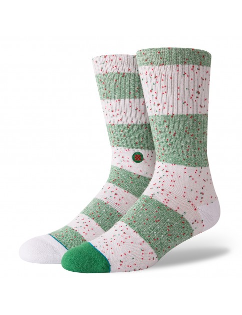 Stance Specktacle Crew Socks in Natural