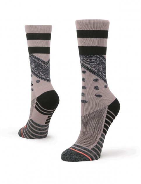 Stance Stadium Crew Crew Socks in Lilac Ice