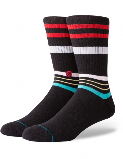 Stance Staples Crew Socks in Black