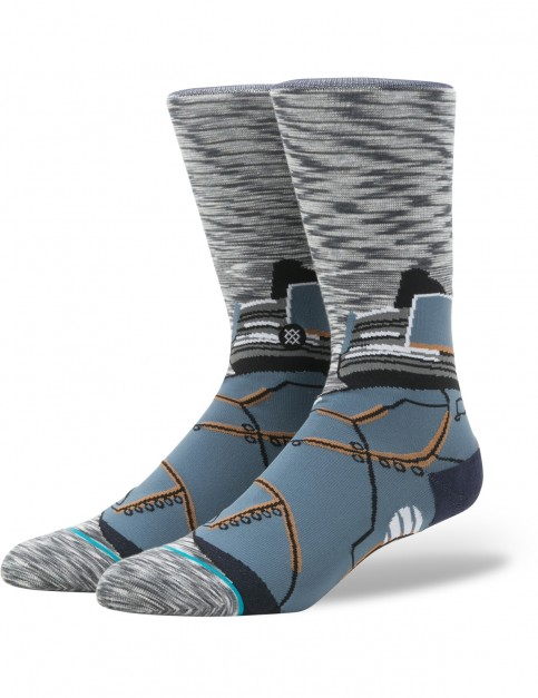 Stance Star Wars Astromech Crew Socks in Grey